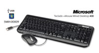 KIT TECLADO + MOUSE USB - MICROSOFT 400